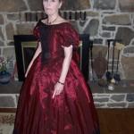 Mrs. Mary Anna Randolph Custis Lee at the Remembrance Day Ball in Gettysburg, PA