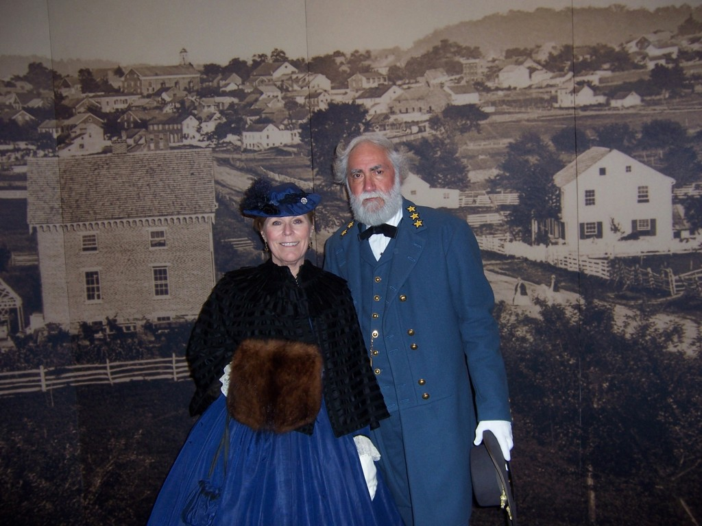 Gen. and Mrs. Lee at the Gettysburg National Military Park Museum and Visitors Center